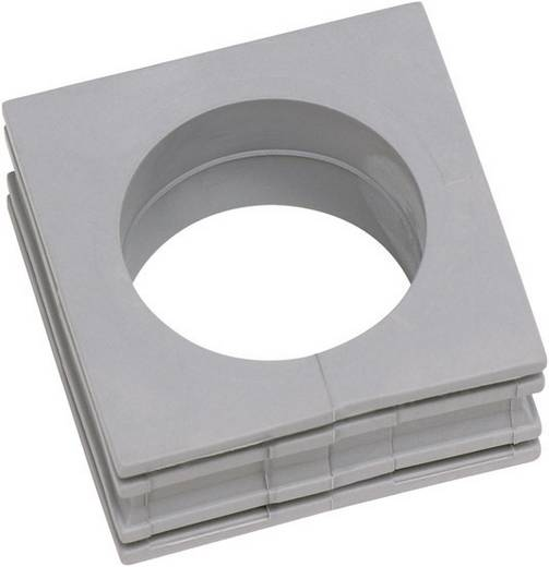 Kabeldoorvoering Gegroefd Klem-Ø (max.) 20 mm Elastomeer Grijs Icotek KT 19 1 stuks