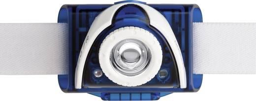 LED Lenser SEO 7R LED Hoofdlamp Blauw werkt op een accu