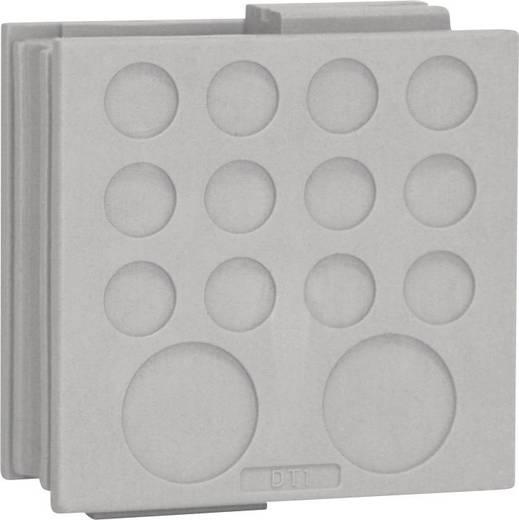 Kabeldoorvoering Klem-Ø (max.) 12.2 mm Elastomeer Grijs Icotek DT 1 1 stuks