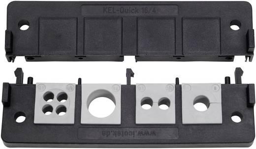 Kabelinvoeringsplaat Polyamide Zwart Icotek KEL-Quick 16/4 1 stuks