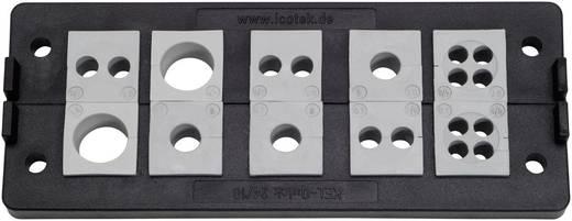 Kabelinvoeringsplaat Polyamide Zwart Icotek KEL-Quick 24/5 1 stuks