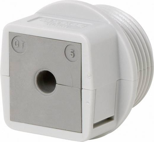 Kabeldoorvoering Deelbaar Polycarbonaat Grijs Icotek QVT 25 1 stuks