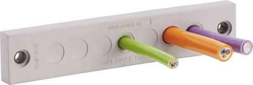 Kabeldoorvoeringsplaat Klem-Ø (max.) 6.5 mm Polyamide, Elastomeer Grijs Icotek KEL-DPZ-E 112/21 1 stuks