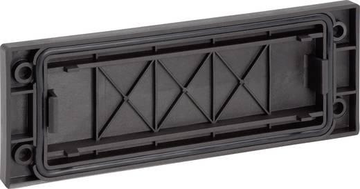 Blindplaat Polyamide Zwart