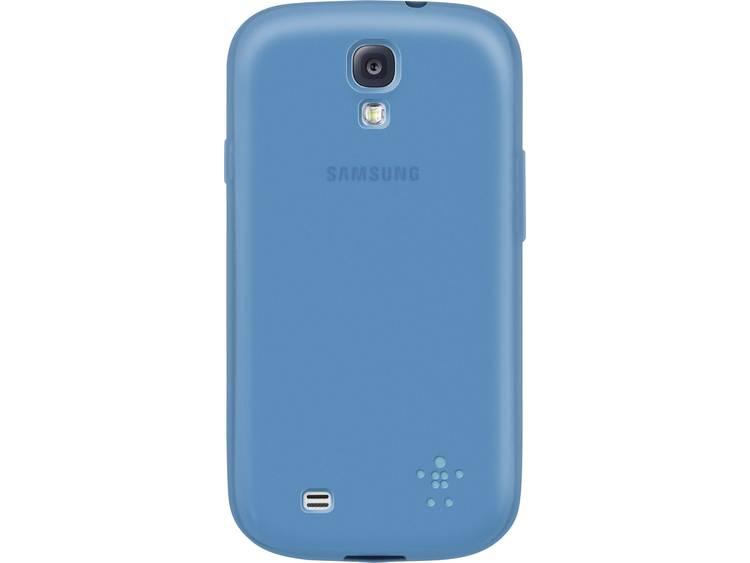 Belkin Grip Sheer GSM backcover Geschikt voor model (GSMs): Samsung Galaxy S4 Turquoise
