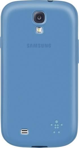 Belkin Grip Sheer GSM backcover Geschikt voor model (GSM's): Samsung Galaxy S4 Turquoise