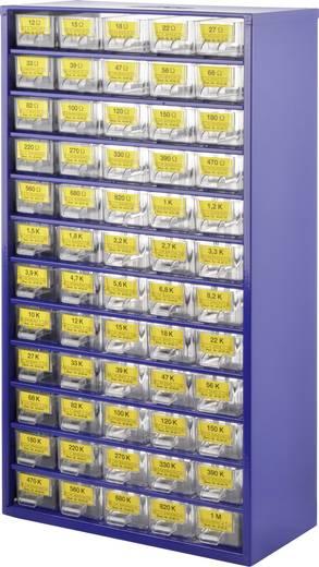 Metaalfilmweerstand assortiment Axiaal bedraad 0.25 W 1 set