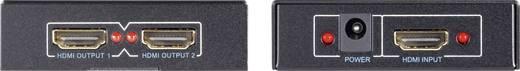 2 poorten HDMI-splitter SpeaKa Professional 419154 3D-weergave mogelijk Zwart