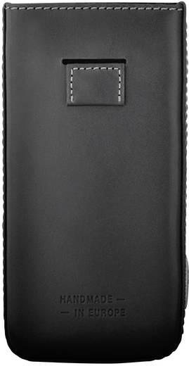 Bugatti PP GSM sleeve Geschikt voor model (GSM's): Huawei Ascend P6 Zwart