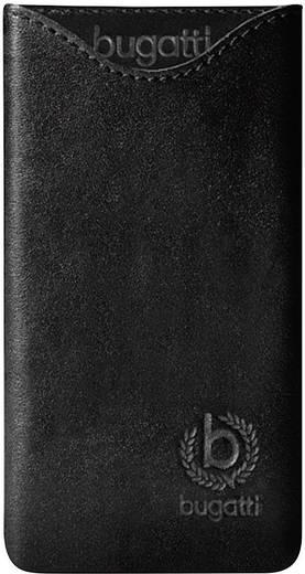Bugatti SlimFit GSM sleeve Geschikt voor model (GSM's): Huawei Ascend P6 Zwart