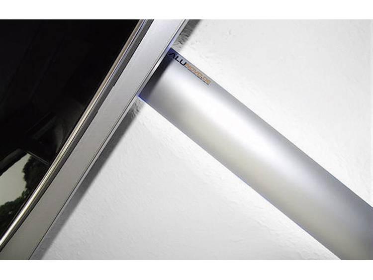 Kabelkanaal (l x b x h) 250 x 80 x 20 mm Zilver (mat, geëloxeerd) Alunovo Inhoud: 1 stuks