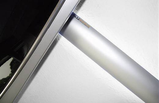 Alunovo AL90-050 Kabelgoot (l x b x h) 500 x 80 x 20 mm 1 stuks Zilver (mat, geëloxeerd)