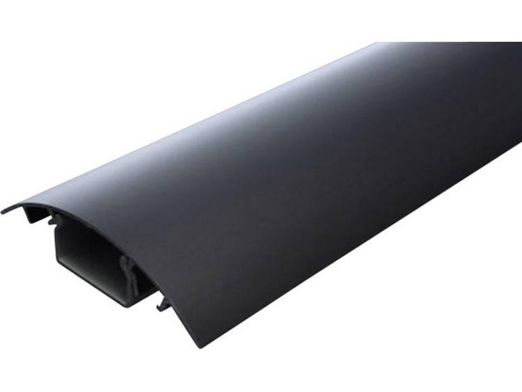 Kabelkanaal (l x b x h) 500 x 80 x 20 mm Zwart (geëloxeerd) Alunovo Inhoud: 1 stuks