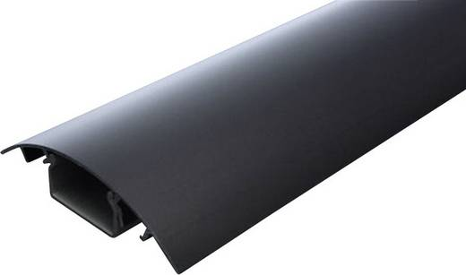 Alunovo SE90-070 Kabelgoot (l x b x h) 700 x 80 x 20 mm 1 stuks Zwart (geëloxeerd)