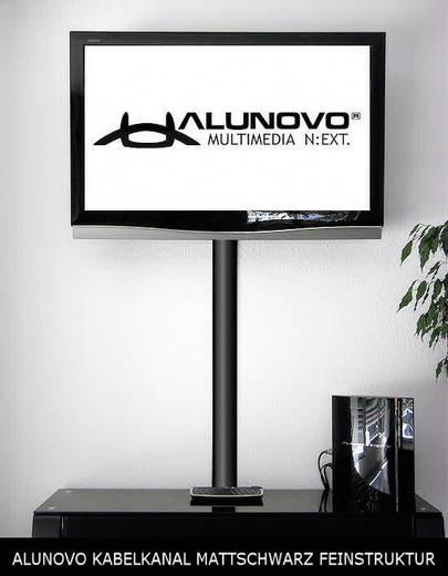 Alunovo SM90-070 Kabelgoot (l x b x h) 700 x 80 x 20 mm 1 stuks Zwart (mat)