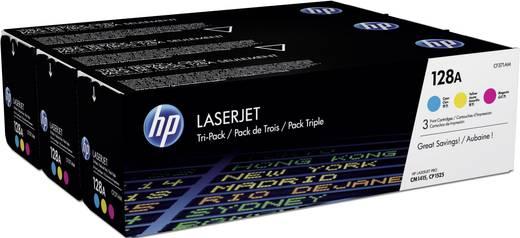 HP Toner multipack 128A CF371AM Origineel Cyaan, Magenta, Geel 1300 bladzijden