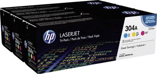 HP Toner multipack 304A CF372AM Origineel Cyaan, Magenta, Geel 2800 bladzijden
