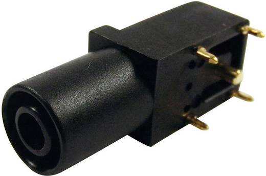 Veiligheids-labconnector, female Bus, haaks Cliff FCR7350B Stift-Ø: 4 mm