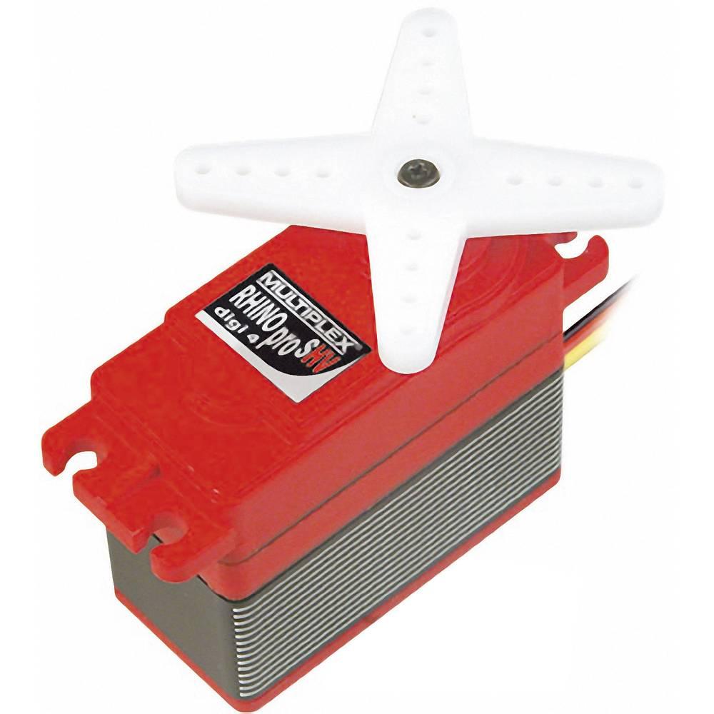 Multiplex Special-Servo RHINO pro SHV digi 4 Digital-servo Transmissionsmaterial: Metall Instickssystem: JR