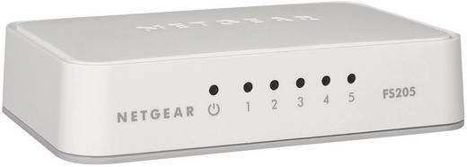 NETGEAR FS205 Netwerk switch RJ45 5 poorten 100 Mbit/s