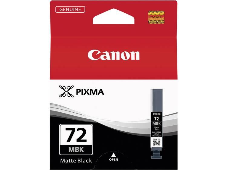 Canon Cartridge PGI 72MBK Origineel Matzwart 6402B001 Cartridge