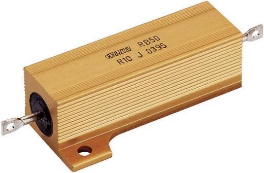 ATE Electronics RB50/1-0R1-J Vermogensweerstand 0.1 Ω Axiaal bedraad 50 W 20 stuks