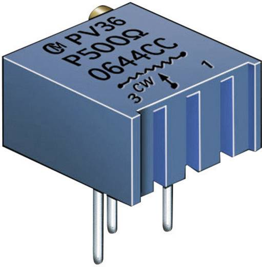 Murata PV36P202C01B00 Cermet-trimmer 25-slagen Lineair 0.5 W 2 kΩ 9000 ° 1 stuks