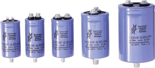 Elektrolytische condensator Schroefaansluiting 22000 µF 100 V/DC 20 % (Ø x h) 65 mm x 100 mm F & T ELKO 22000UF/100V 1 stuks