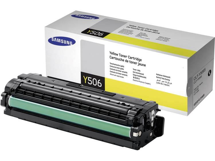 Samsung Tonercassette CLT Y506S SU524A Origineel Geel 1500 bladzijden