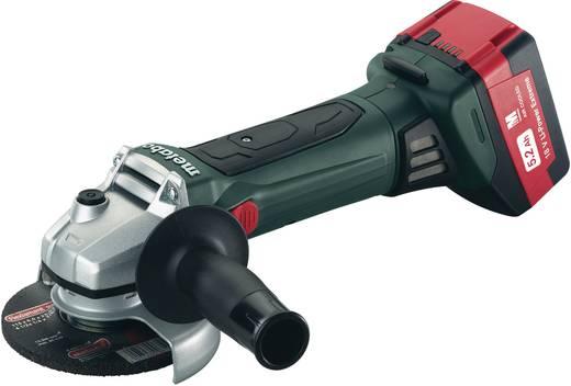 Accu-haakse slijper 125 mm incl. 2 accu's, incl. koffer <br