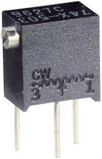 Vishay 74X 1M Spindeltrimmer 12-slagen Lineair 0.25 W 1 MΩ 4320 ° 1 stuks
