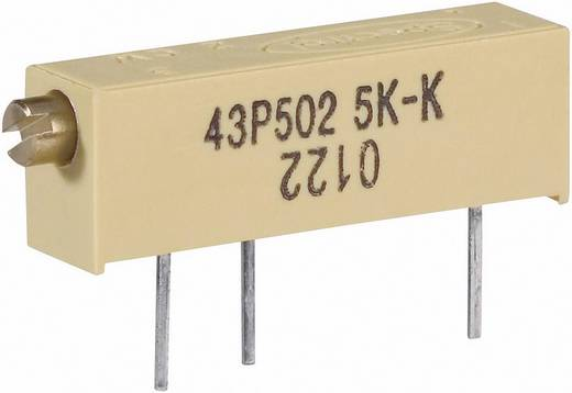 Vishay 0122 1 W 10R Spindeltrimmer 15-slagen Lineair 0.75 W 10 Ω 5400 ° 1 stuks