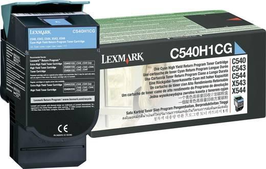 Lexmark Tonercassette C540H1 C540H1CG Origineel Cyaan 2000 bladzijden
