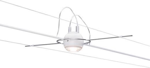 Kabelsysteem compleet LED vast ingebouwd 20 W LED Paulmann Ball 94098 Wit