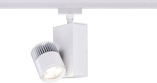 URail-systeem Light&Easy Spot TecLed 1x 9W wit 230V metaal