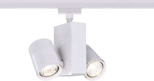 URail-systeem Light&Easy Spot Tecno 2x 35W GU 5,3 wit 230V metaal