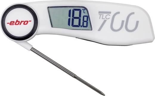ebro TLC 700 Insteekthermometer (HACCP) Meetbereik temperatuur -30 tot 220 °C Sensortype NTC Conform HACCP