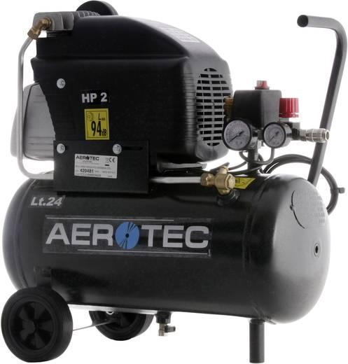 Aerotec 220-24FC persluchtcompressor 24 l