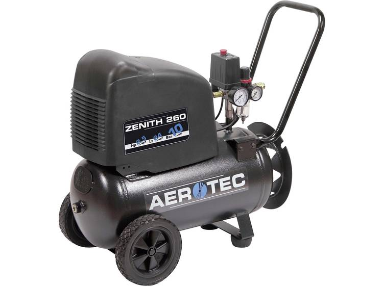 Aerotec Zenith 260 Pro persluchtcompressor 24 l 10 bar