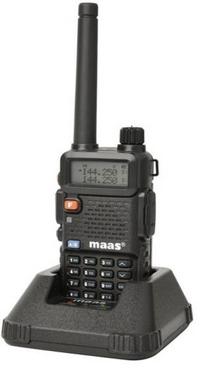 MAAS Elektronik Amateur portofoon AHT-28-V VHF 1244 AHT-28-V