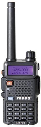 MAAS Elektronik Amateur handheld portofoon AHT-78-U UHF 1284 AHT-78-U
