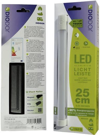 DioDor LED-onderbouwlamp 3.5 W Warm-wit Diodor lichtbalk Wit DIO-TL25-SP-FN