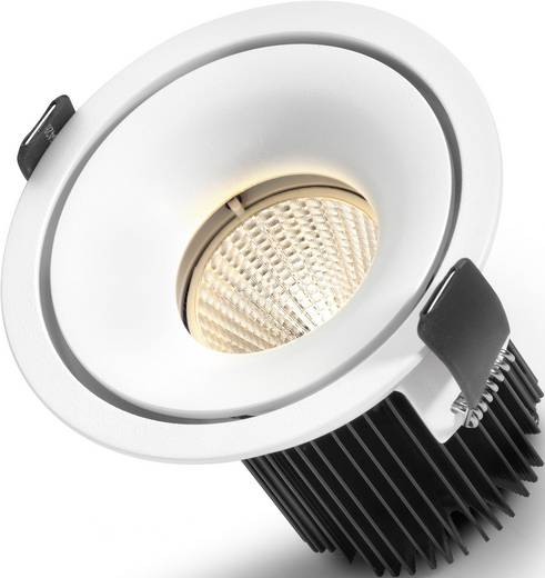 Sygonix Enna 12593Y LED-inbouwlamp 10 W Warm-wit Wit