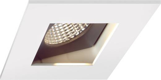 LED-inbouwlamp 10 W Warm-wit Sygonix Egna 12557C Wit