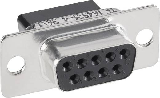 TE Connectivity AMPLIMITE HDP-20 D-SUB bus connector 180 ° Aantal polen: 9 Crimp 1 stuks