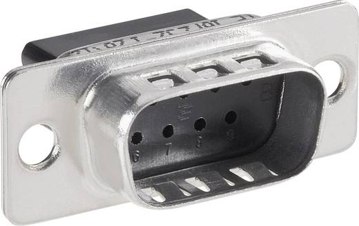 TE Connectivity AMPLIMITE HDP-20 D-SUB male connector 180 ° Aantal polen: 9 Crimp 1 stuks