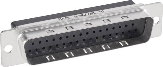 TE Connectivity AMPLIMITE HDP-20 D-SUB male connector 180 ° Aantal polen: 50 Crimp 1 stuks