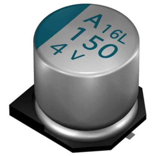 Elektrolytische condensator SMD 150 µF 10 V 20 % (Ø x l) 8 mm x 6.7 mm Europe ChemiCon APXA100ARA151MH70G 1000 stuks