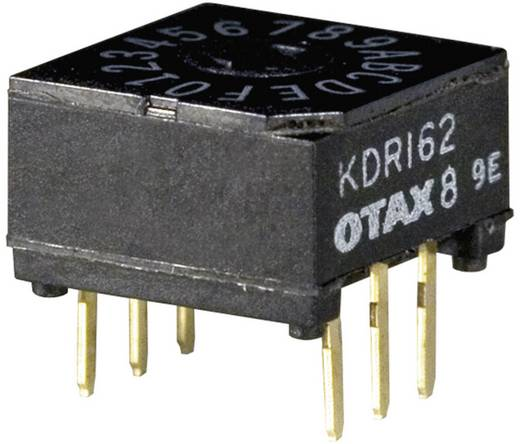 OTAX KMR-162 Codeerschakelaar Hexadecimaal 0-9/A-F Schakelposities 16 35 stuks