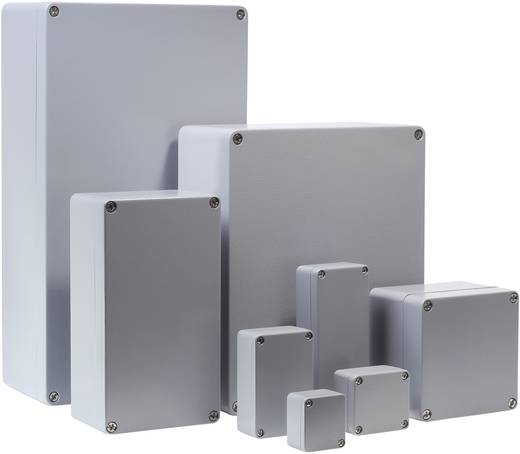 Bernstein AG CA-270 Universele behuizing 160 x 160 x 90 Aluminium Zilver-grijs (RAL 7001) 1 stuks